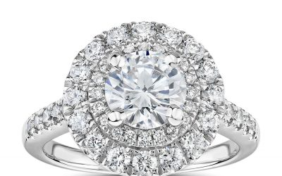 Does A Halo Make A Diamond Look Bigger?